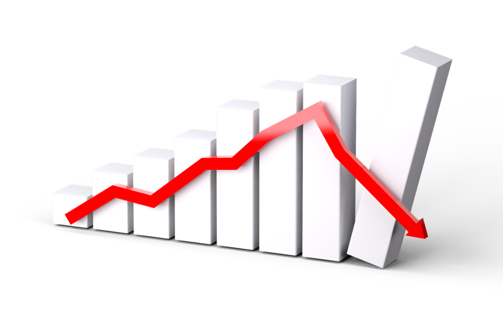 spadek sprzedaży eBooka